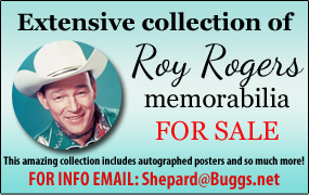 Roy Rogers Memorabilia for Sale ad