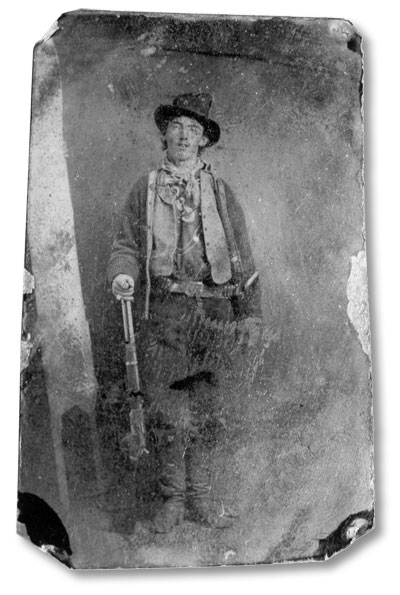 Photo of Billy the Kid