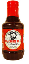 Bottle of Billy's BBQ Sauce