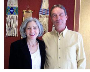 Ilene and Bruce Johnson