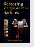 Photos of Restoring Vintage Western Saddles Book