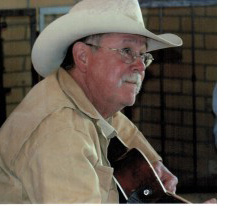 Photos of Don Hedgpeth with his guitar