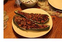Delicious Eggplant Boats
