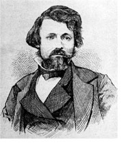 Etching of Francois Aubry