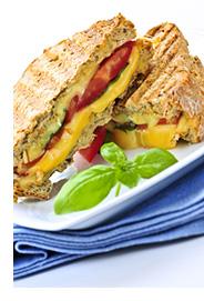 Tasty Cauliflower Grilled Cheese Sandwich