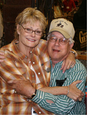 Larry Peck and wife, Cindy