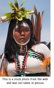 A Pueblo Dancer