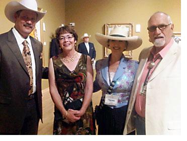 People Pnjoying Cowboy Artists Gathering