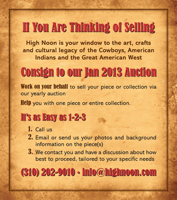 Consignments being accepted for Jan 2013 Auction