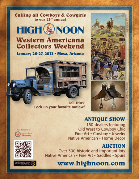 High Noon Auction Ad