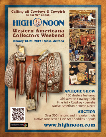 Don't miss the High Noon Show and Auction