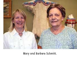 Mary and Barbara Schmitt
