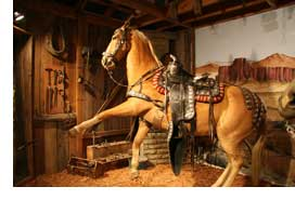 Trigger the horse at the Roy Rogers Museum