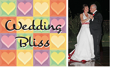 Wedding Bliss Hearts plus Melissa and Brian Background
