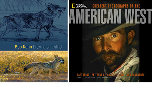 Drawings and photos of the American West