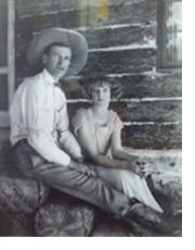 Photos of Will James and Alice Conradt