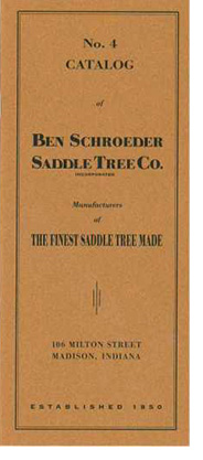 Saddle Tree Co. Catalog Cover