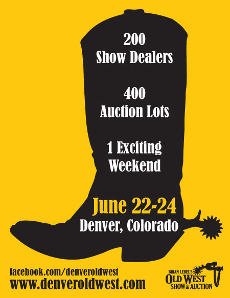 Denver Old West Show and Auction Ad