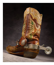 Roy Rogers Eagle Boots