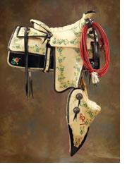 Roy Rogers Rose Parade Saddle