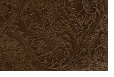 Piece of tooled leather
