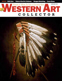 cover of Western Art Collector January 2011 Story