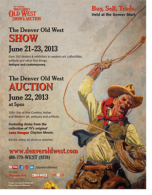 Denver Old West Poster