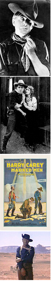 Collage of Harry Carey Photos