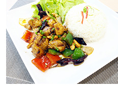 Delicious Cashew Chicken Dish