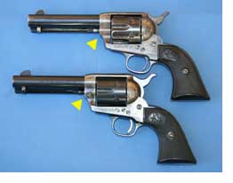 Pair of Colt Revolvers