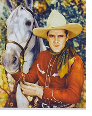 Ken Maynard with horse Tarzan