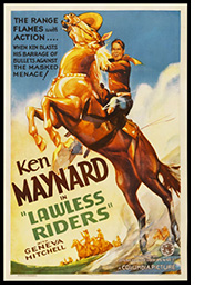 Lawless Riders Poster