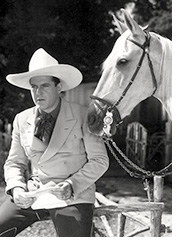 Ken Maynard with his horse Tarzan