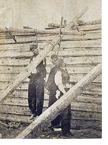 The hanging of Big Ned, Asa Moore and Con Wagner