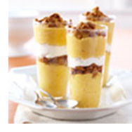 Delicious Pumpkin Mousse Parfaits