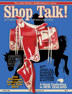 Shop Talk Septemer 2010 cover