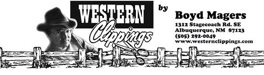 Western Clippings Masthead