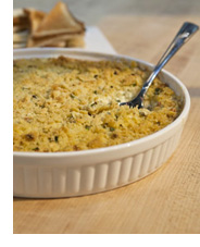 Photo of hot crab dip