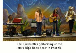 Buckarettes performing at the 2009 High Noon Show in Phoenix