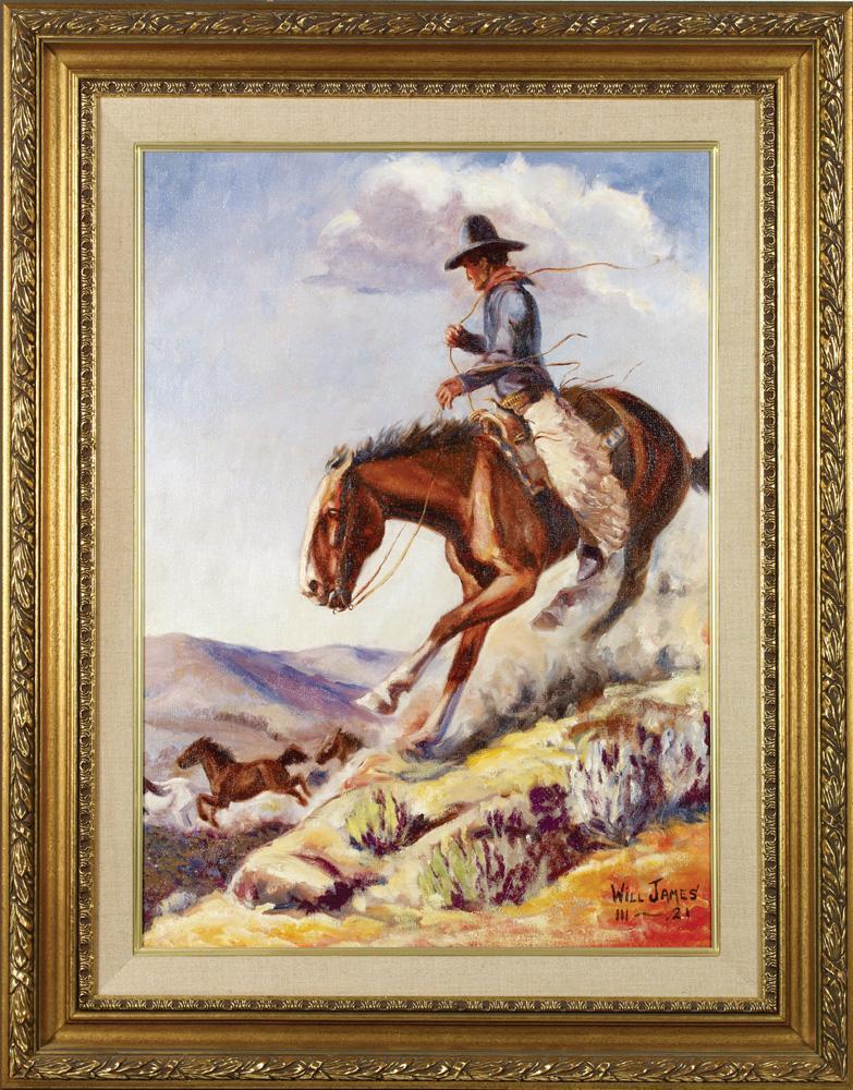 Original Western Art | High Noon Western Auction